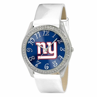 New York Giants Women's Glitz Watch