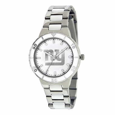 New York Giants Women's Pearl Watch