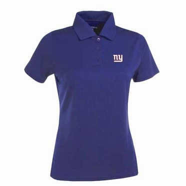 New York Giants Womens Exceed Polo (Team Color: Royal)