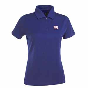 New York Giants Womens Exceed Polo (Team Color: Royal) - Large