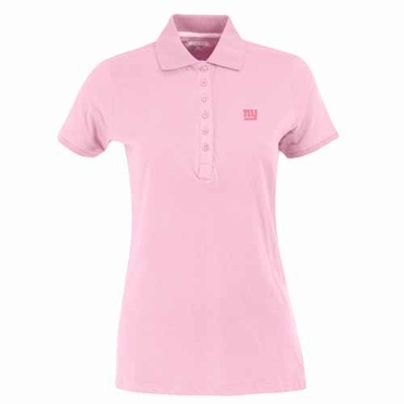 New York Giants Womens Spark Polo (Color: Pink)