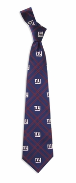 New York Giants Woven Poly 2 Necktie