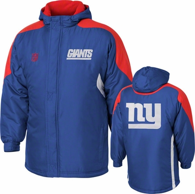 New York Giants YOUTH Field Goal Midweight Full Zip Hooded Jacket