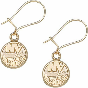 New York Islanders 10K Gold Post or Dangle Earrings