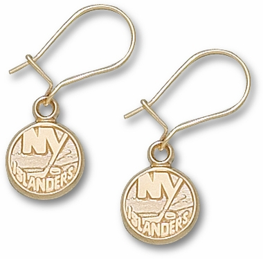 New York Islanders 14K Gold Post or Dangle Earrings