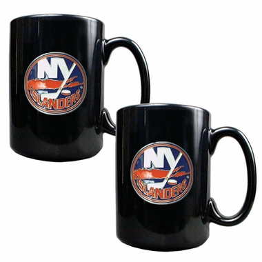 New York Islanders 2 Piece Coffee Mug Set