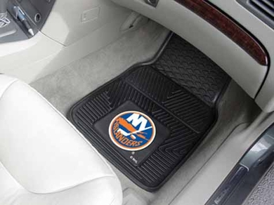 New York Islanders 2 Piece Heavy Duty Vinyl Car Mats