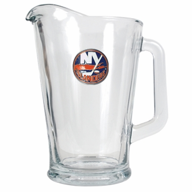 New York Islanders 60 oz Glass Pitcher