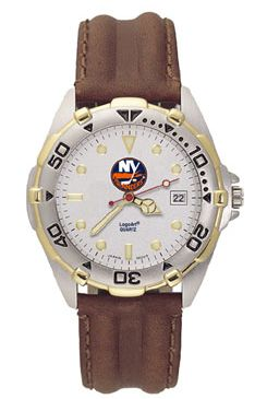 New York Islanders All Star Mens (Leather Band) Watch