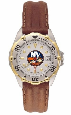 New York Islanders All Star Womens (Leather Band) Watch