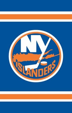 New York Islanders Applique Banner Flag
