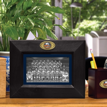 New York Islanders BLACK Landscape Picture Frame