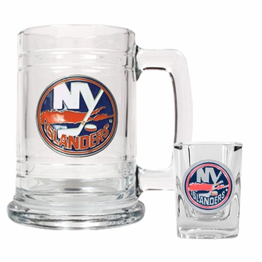 New York Islanders Boilermaker Set