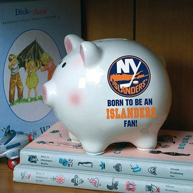 New York Islanders (Born to Be) Piggy Bank
