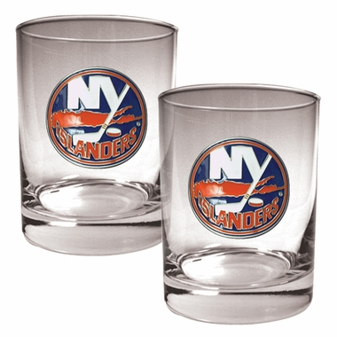 New York Islanders Double Rocks Set