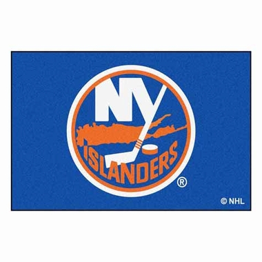 New York Islanders Economy 5 Foot x 8 Foot Mat