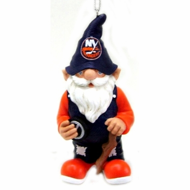 New York Islanders Gnome Christmas Ornament