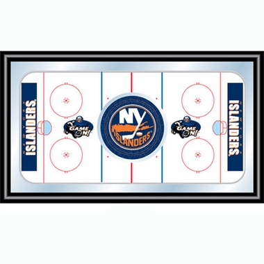 New York Islanders Hockey Bar Mirror