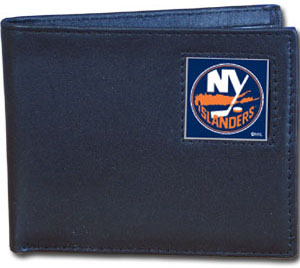 New York Islanders Leather Bifold Wallet (F)