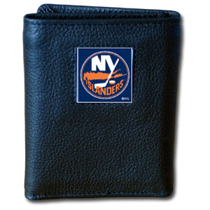 New York Islanders Leather Trifold Wallet (F)