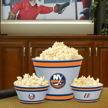 New York Islanders Plastic Serving Set