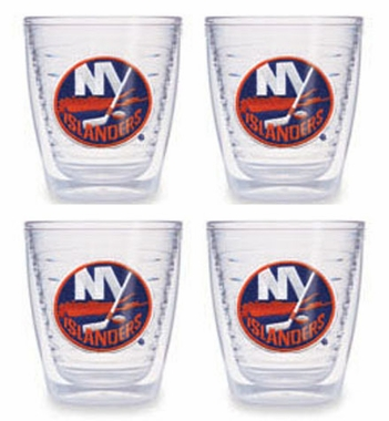 New York Islanders Set of FOUR 12 oz. Tervis Tumblers