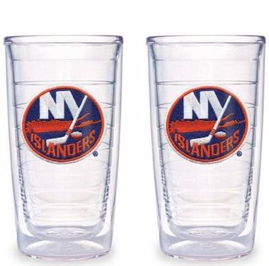 New York Islanders Set of TWO 16 oz. Tervis Tumblers