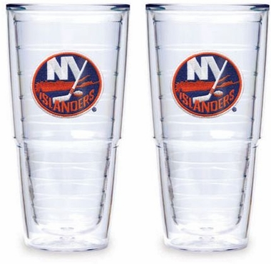 "New York Islanders Set of TWO 24 oz. ""Big T"" Tervis Tumblers"