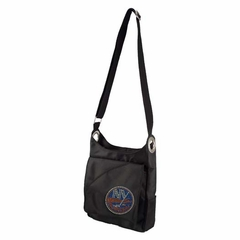 New York Islanders Sport Noir Sheen Crossbody Bag