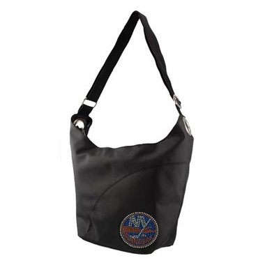 New York Islanders Sport Noir Sheen Hobo Purse