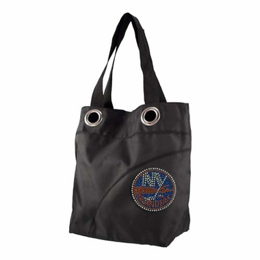 New York Islanders Sport Noir Sheen Tote
