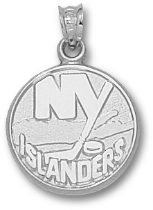 New York Islanders Sterling Silver Pendant