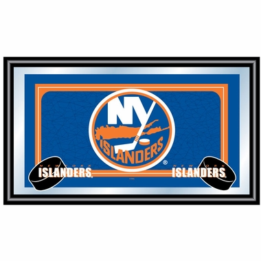New York Islanders Team Logo Bar Mirror
