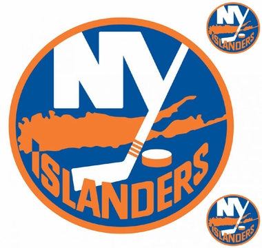 New York Islanders Wallmarx Large Wall Decal