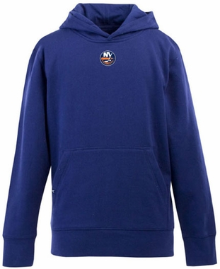 New York Islanders YOUTH Boys Signature Hooded Sweatshirt (Team Color: Royal)