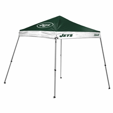 New York Jets 10 x 10 Slant Leg Shelter