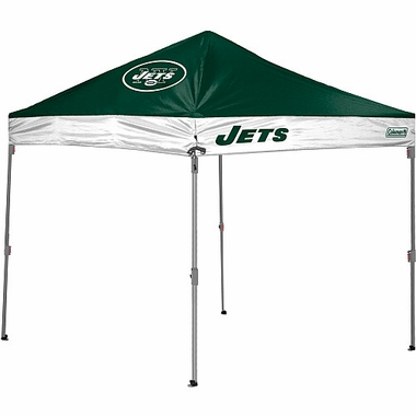 New York Jets 10 x 10 Straight Leg Shelter