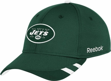 New York Jets 11 Sideline Structured Flex Hat