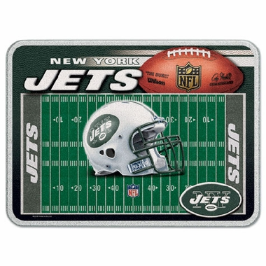New York Jets 11 x 15 Glass Cutting Board