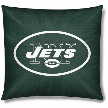 New York Jets 18 Inch Toss Pillow
