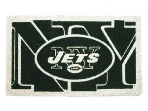 New York Jets 18x30 Bleached Welcome Mat