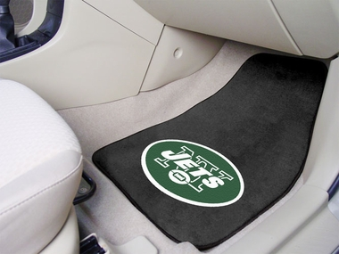New York Jets 2 Piece Car Mats