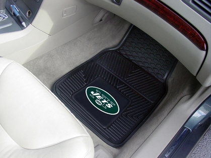 New York Jets 2 Piece Heavy Duty Vinyl Car Mats