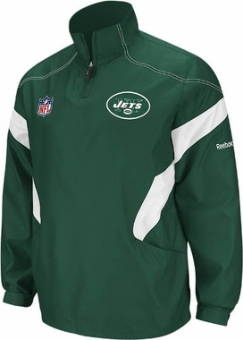 New York Jets 2011 Sideline 1/4 Zip Hot Jacket