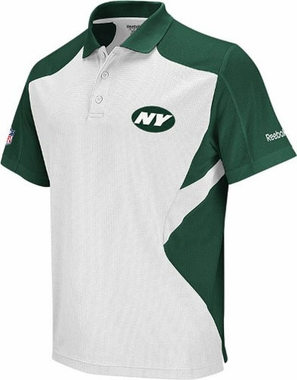 New York Jets 2011 Sideline Team Polo (White)
