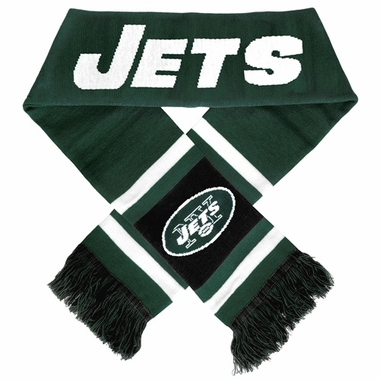New York Jets 2012 Team Stripe Knit Scarf