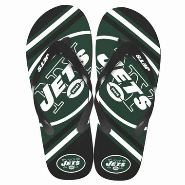 New York Jets 2013 Unisex Big Logo Flip Flops