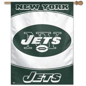 "New York Jets 27"" x 37"" Banner"