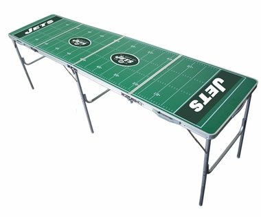 New York Jets 2x8 Tailgate Table