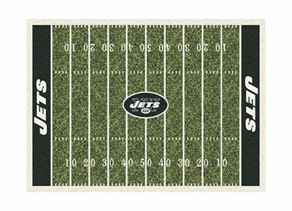 "New York Jets 3'10"" x 5'4"" Premium Field Rug"